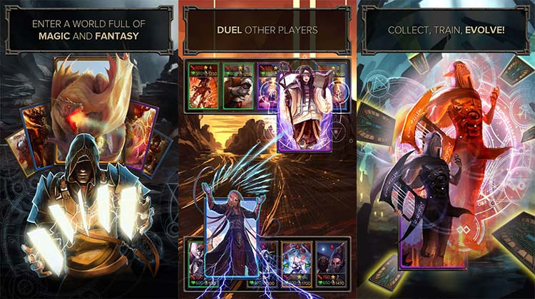 Evoker Magic Card Game APK