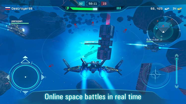 Space Jet: War Galaxy Machines APK
