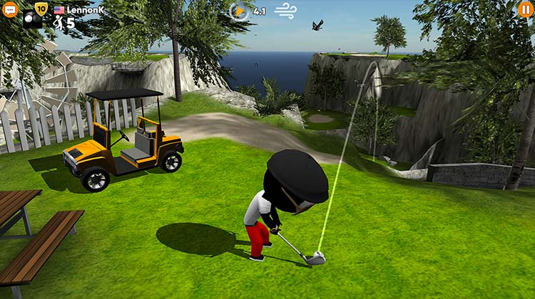 Stickman Cross Golf Battle APK